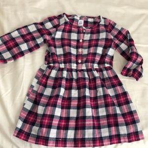 GAP Dresses - Gap toddler girl plaid dress